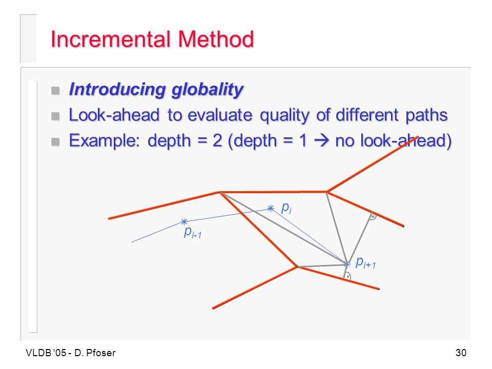 Incremental Method Introducing globality