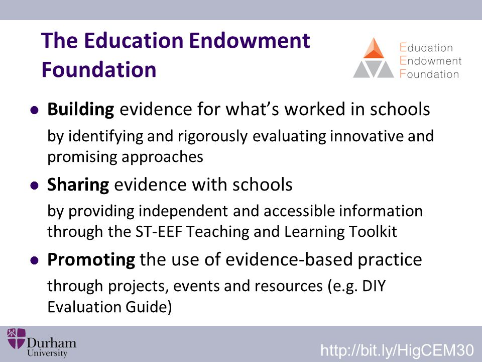 The Education Endowment Foundation