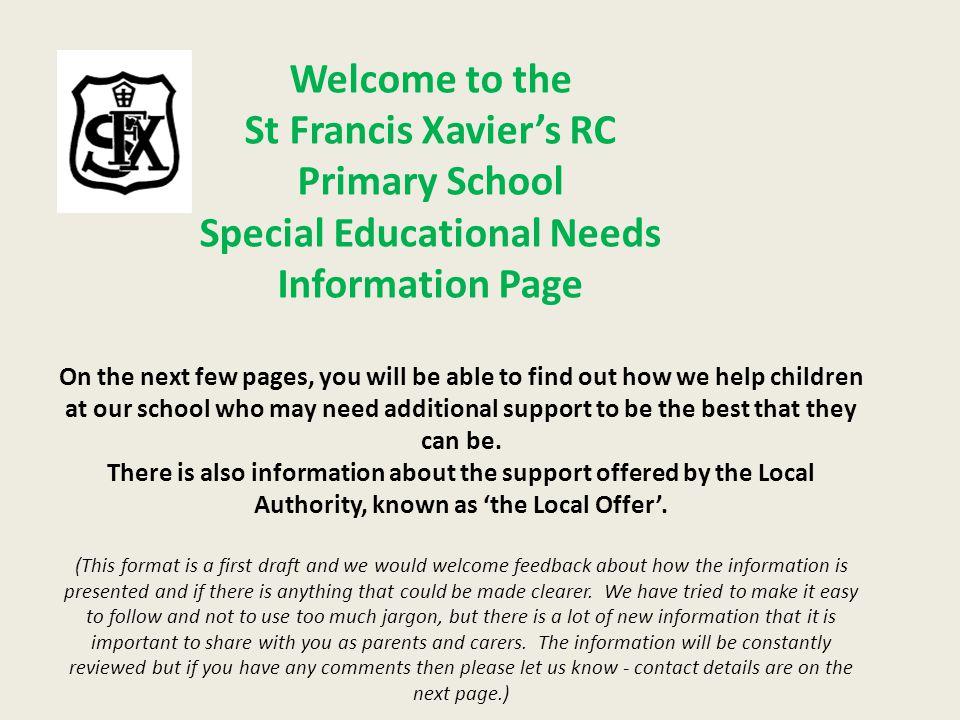 St Francis Xavier's RC Primary School