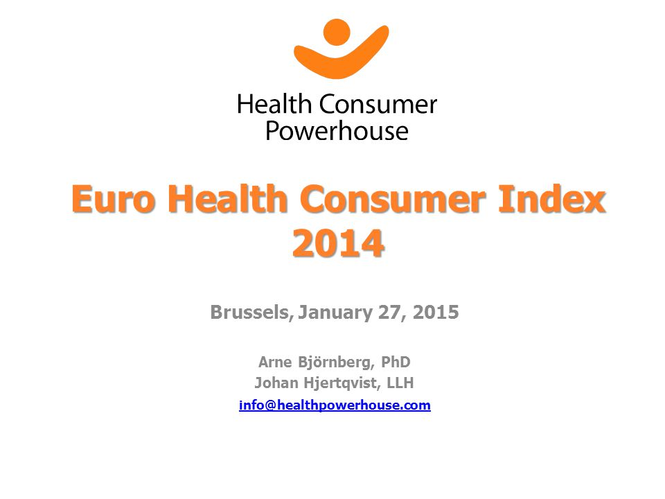 Euro Health Consumer Index 2014