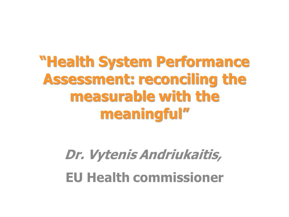 Dr. Vytenis Andriukaitis, EU Health commissioner