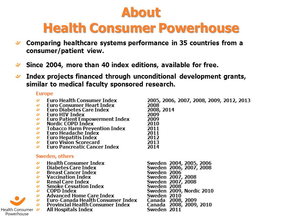 About Health Consumer Powerhouse