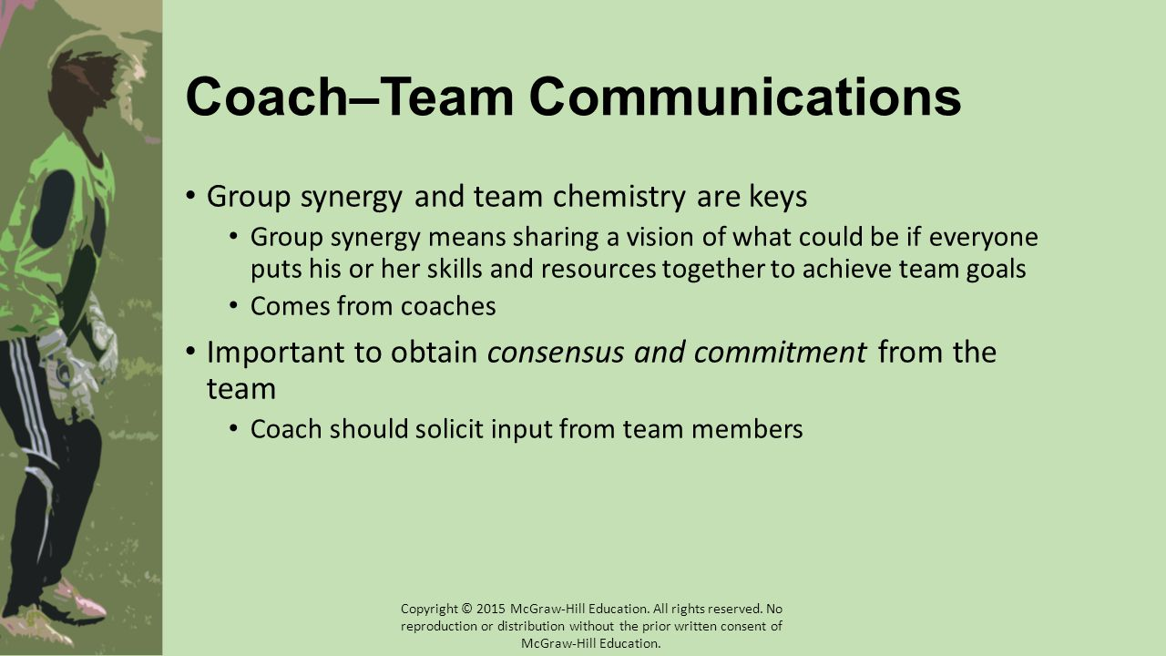 Coach–Team Communications