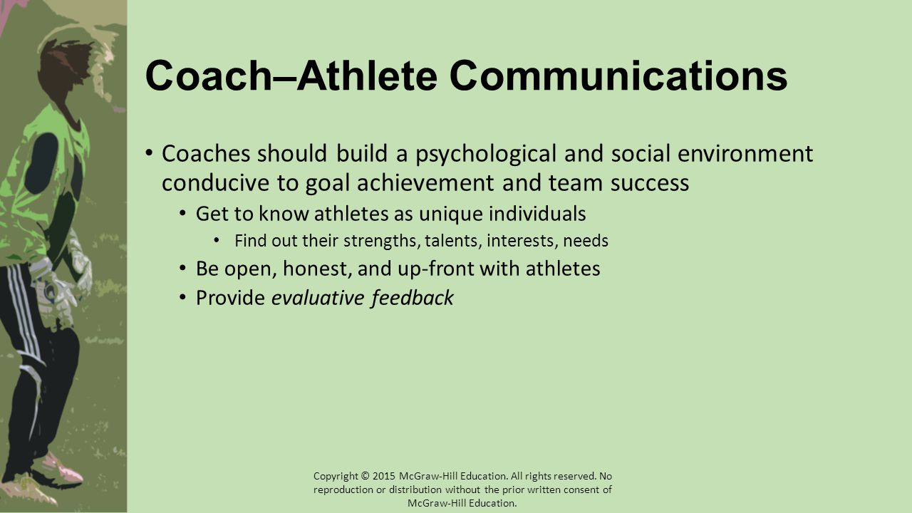 Coach–Athlete Communications