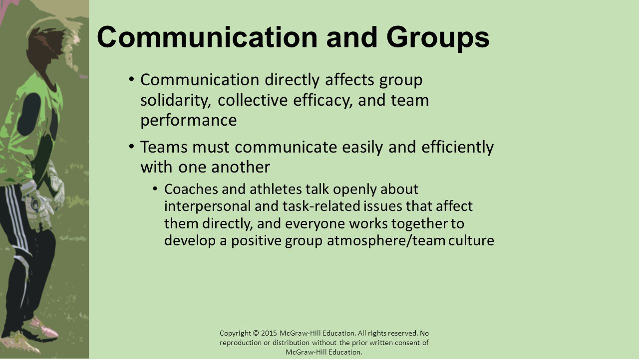 Communication and Groups