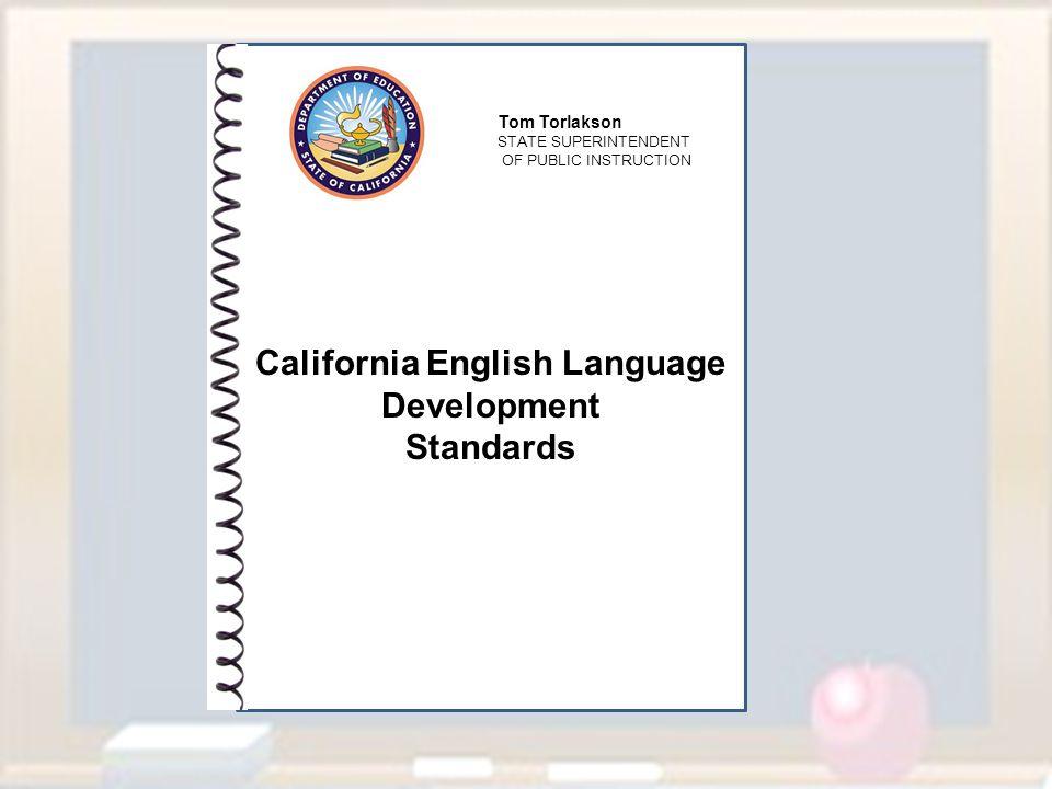California English Language Development