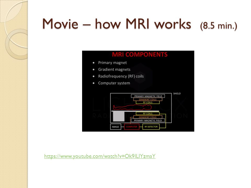 Movie – how MRI works (8.5 min.)