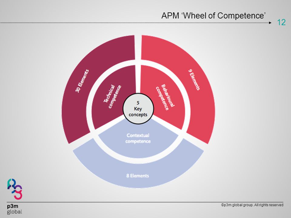 APM 'Wheel of Competence'