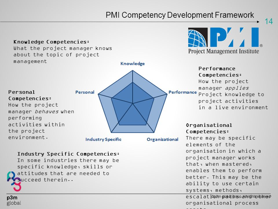 PMI Competency Development Framework