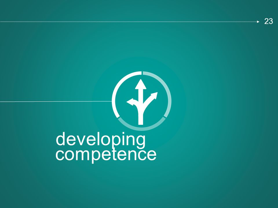 developing competence 23