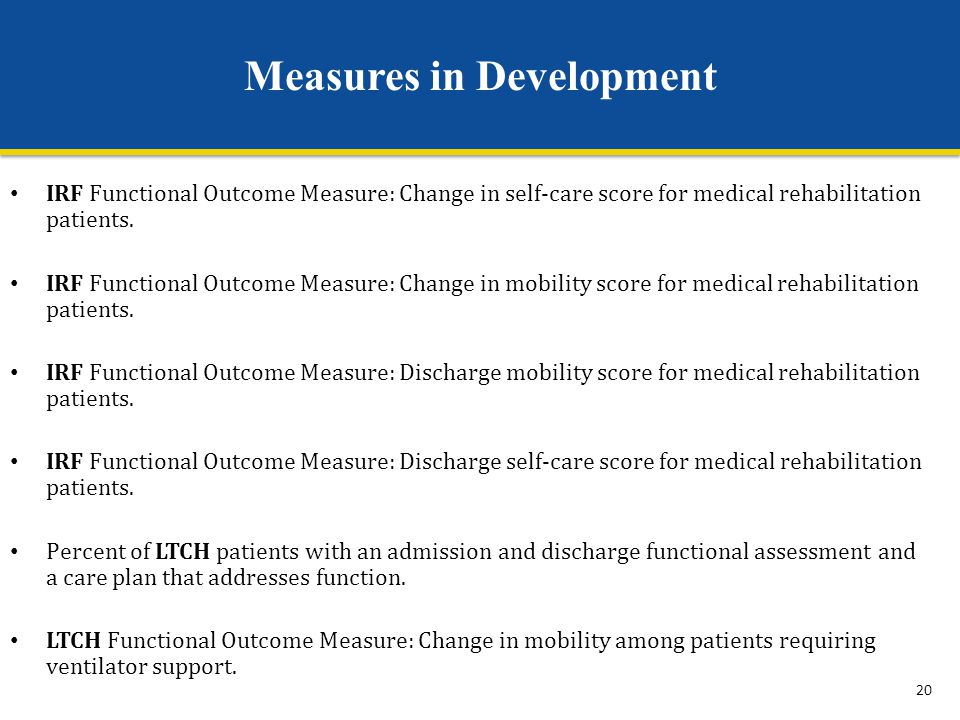Measures in Development