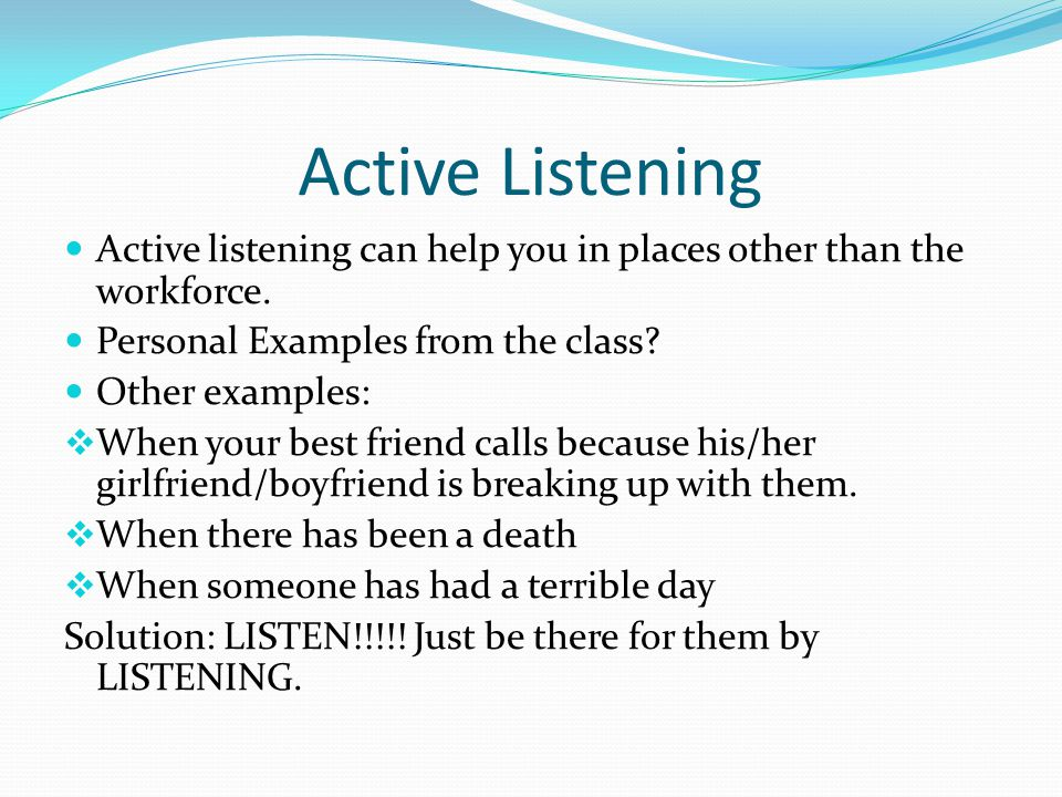active listening memo 11201 gateway effective professional writing: the memo stress active, not passive voice (active – overuse of.