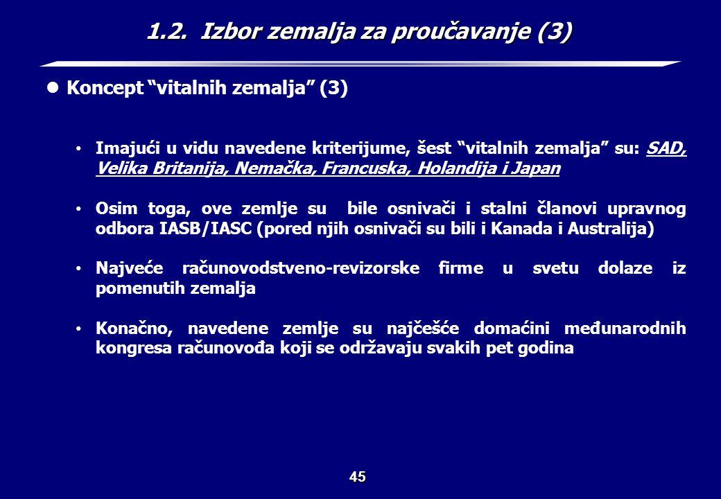1.3. Uzroci medjunarodnih razlika (1)