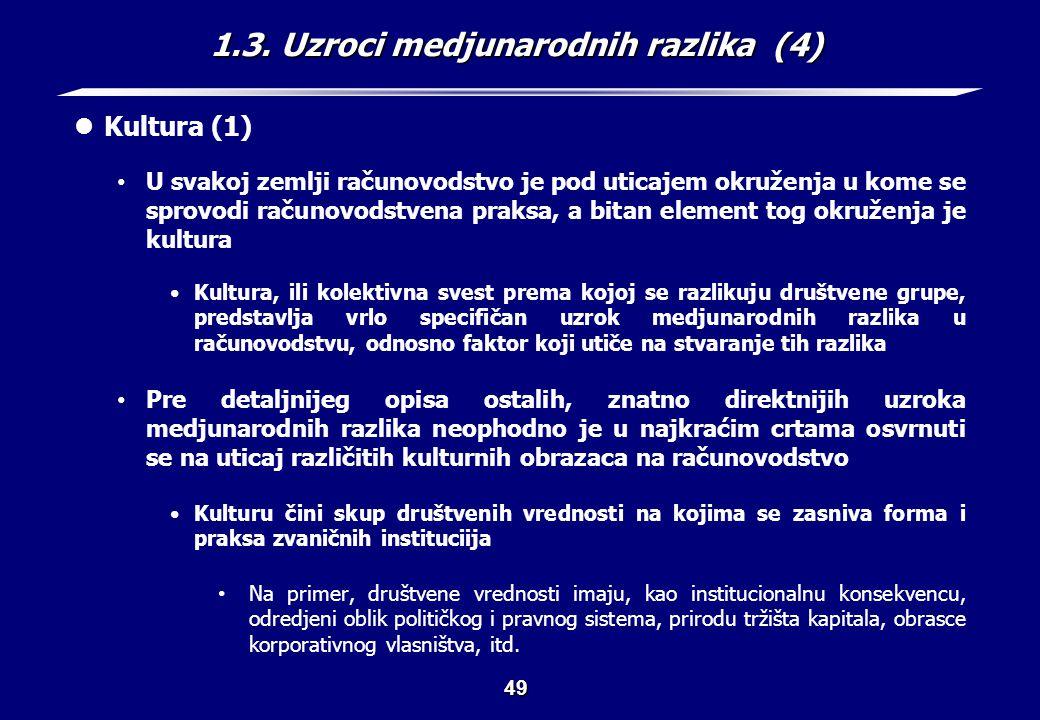 1.3. Uzroci medjunarodnih razlika (5)