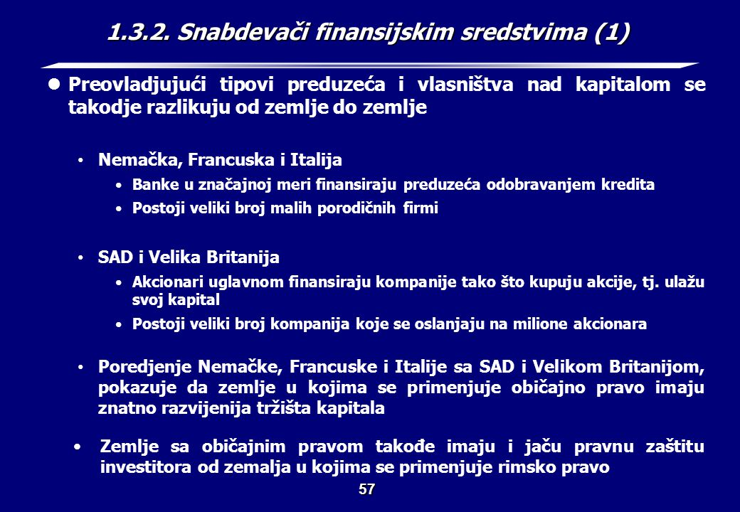1.3.2. Snabdevači finansijskim sredstvima (2)