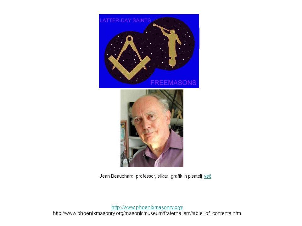 Jean Beauchard: professor, slikar, grafik in pisatelj več