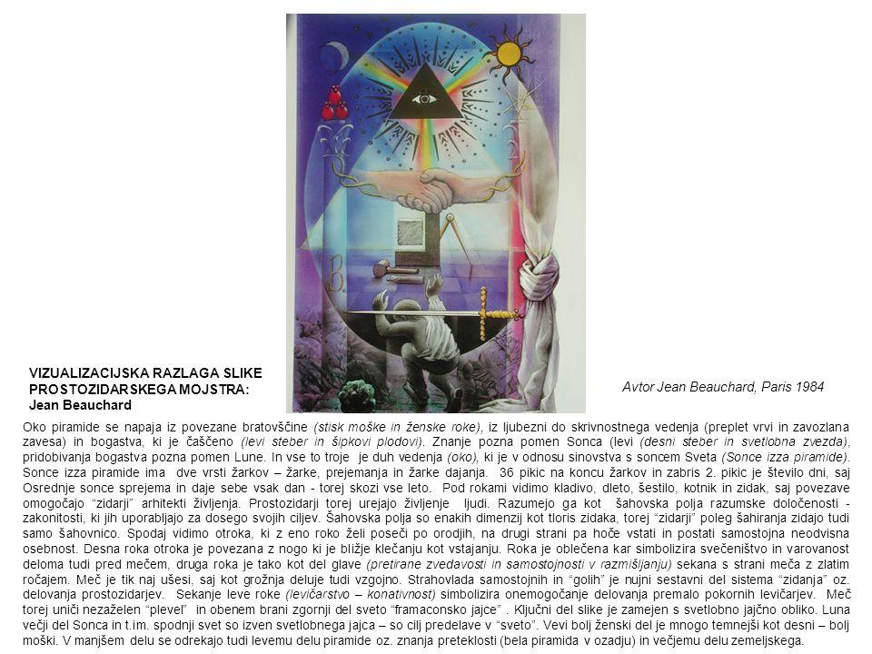 VIZUALIZACIJSKA RAZLAGA SLIKE PROSTOZIDARSKEGA MOJSTRA: Jean Beauchard