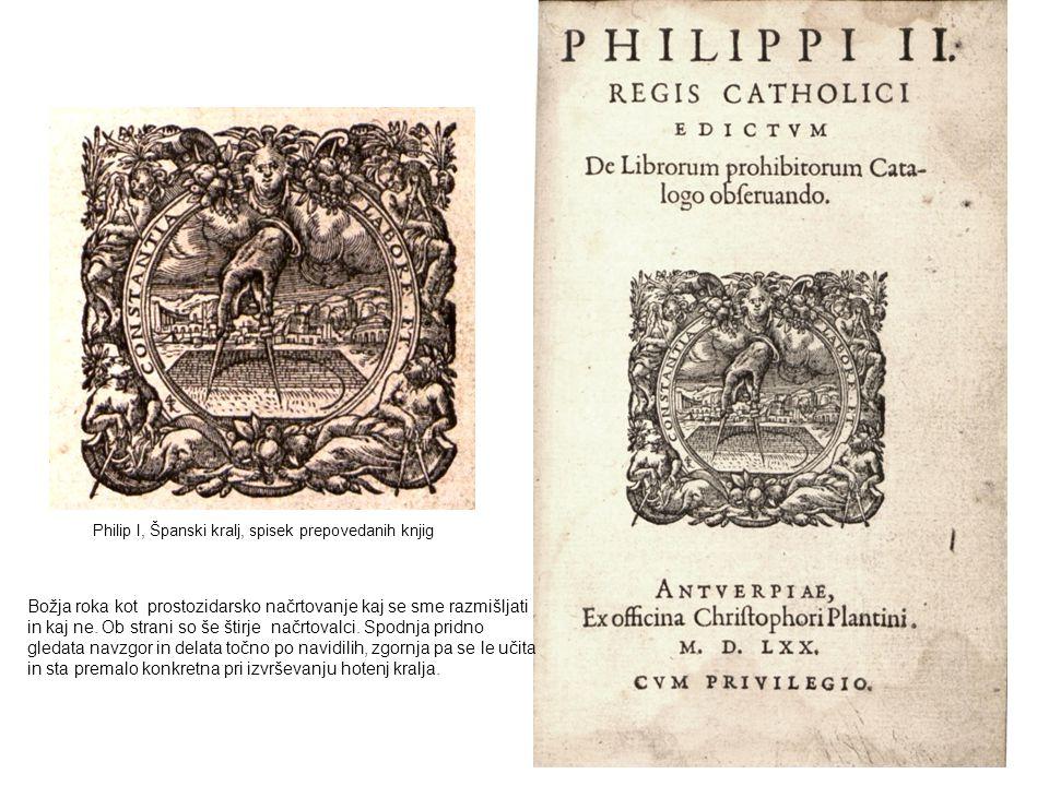 Philip I, Španski kralj, spisek prepovedanih knjig