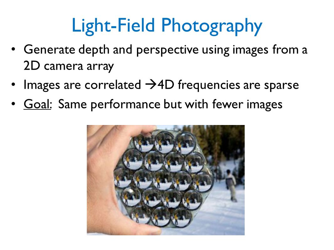Light-Field Photography