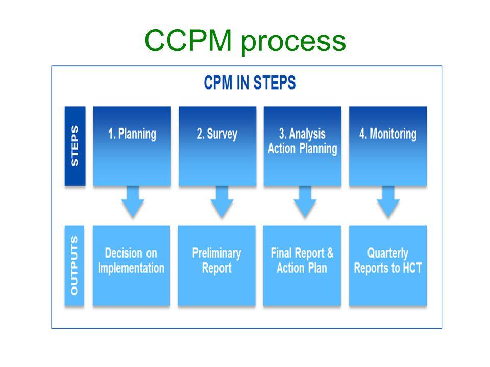 CCPM process