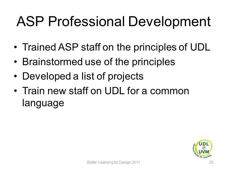 ASP Professional Development