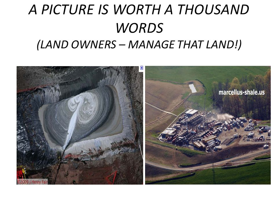 A PICTURE IS WORTH A THOUSAND WORDS (LAND OWNERS – MANAGE THAT LAND!)