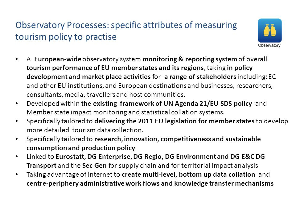 Observatory Processes: specific attributes of measuring