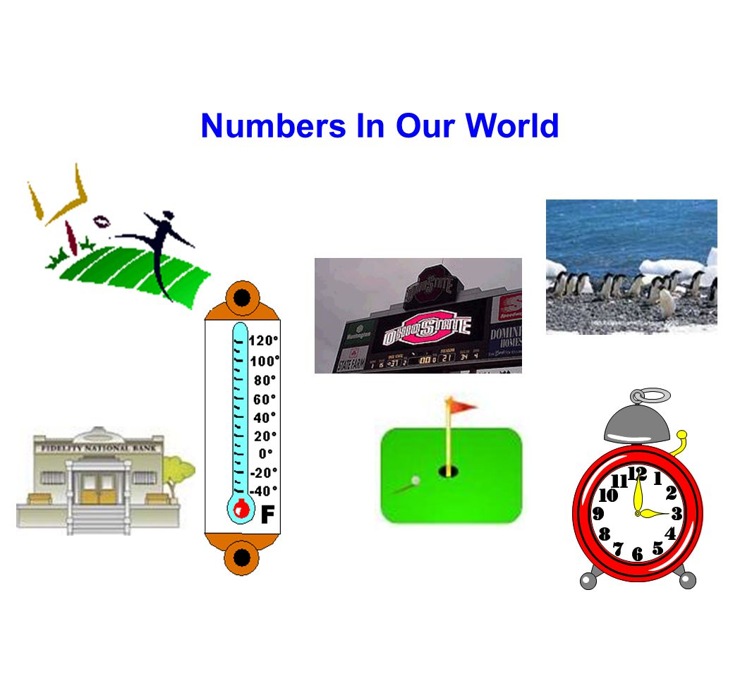 Numbers In Our World