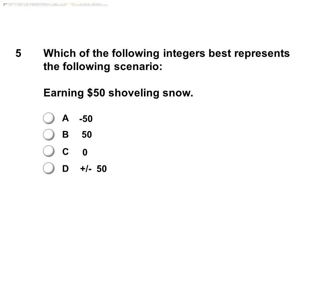 Earning $50 shoveling snow.