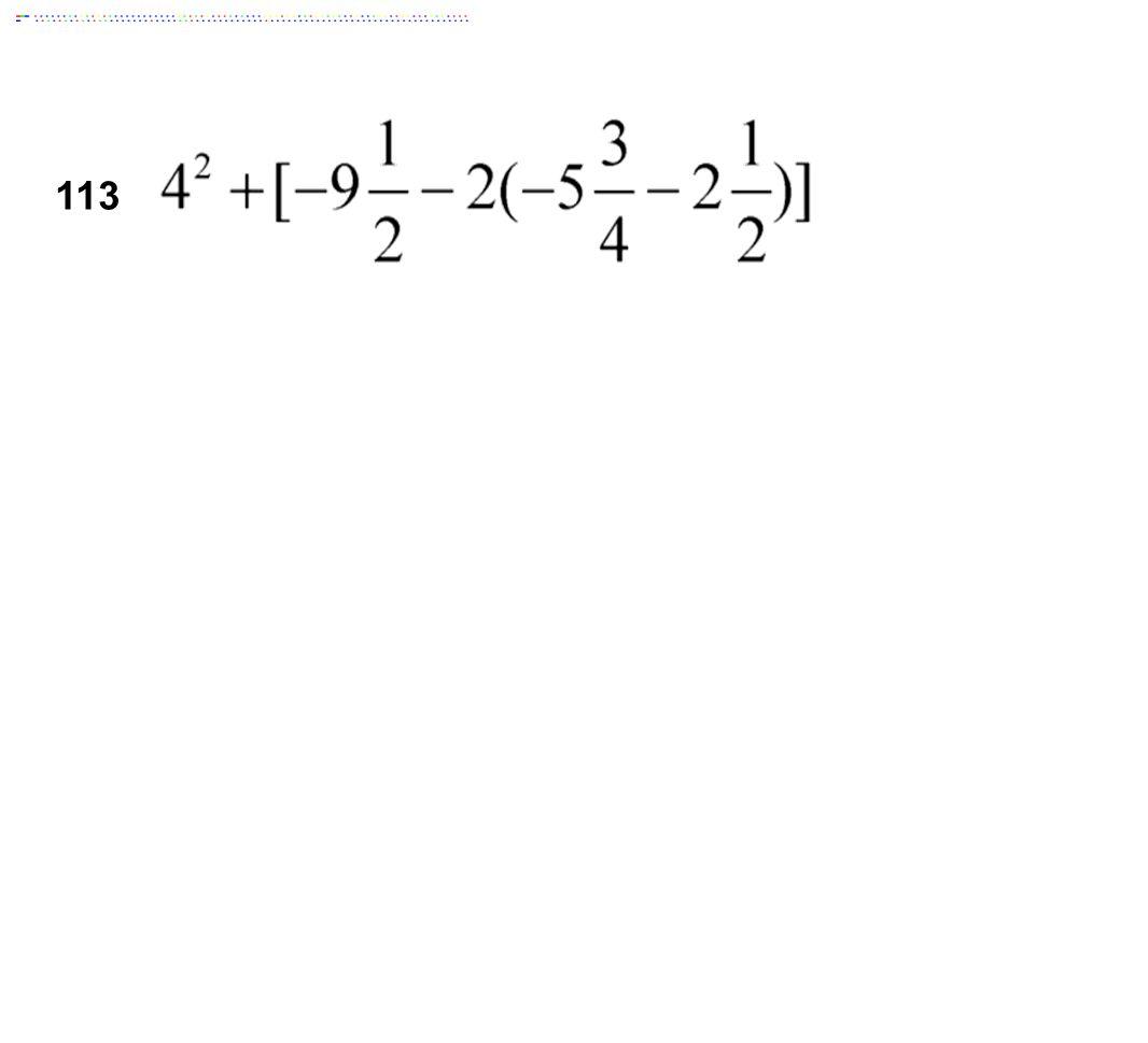 113 Answer: 23