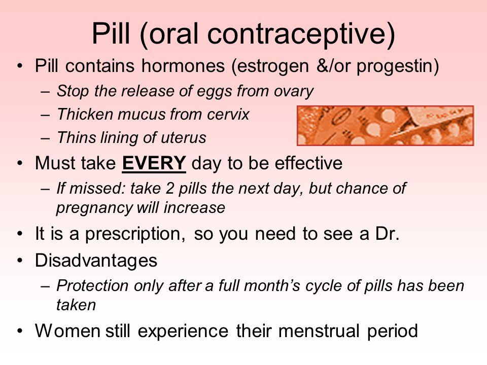 Pill (oral contraceptive)