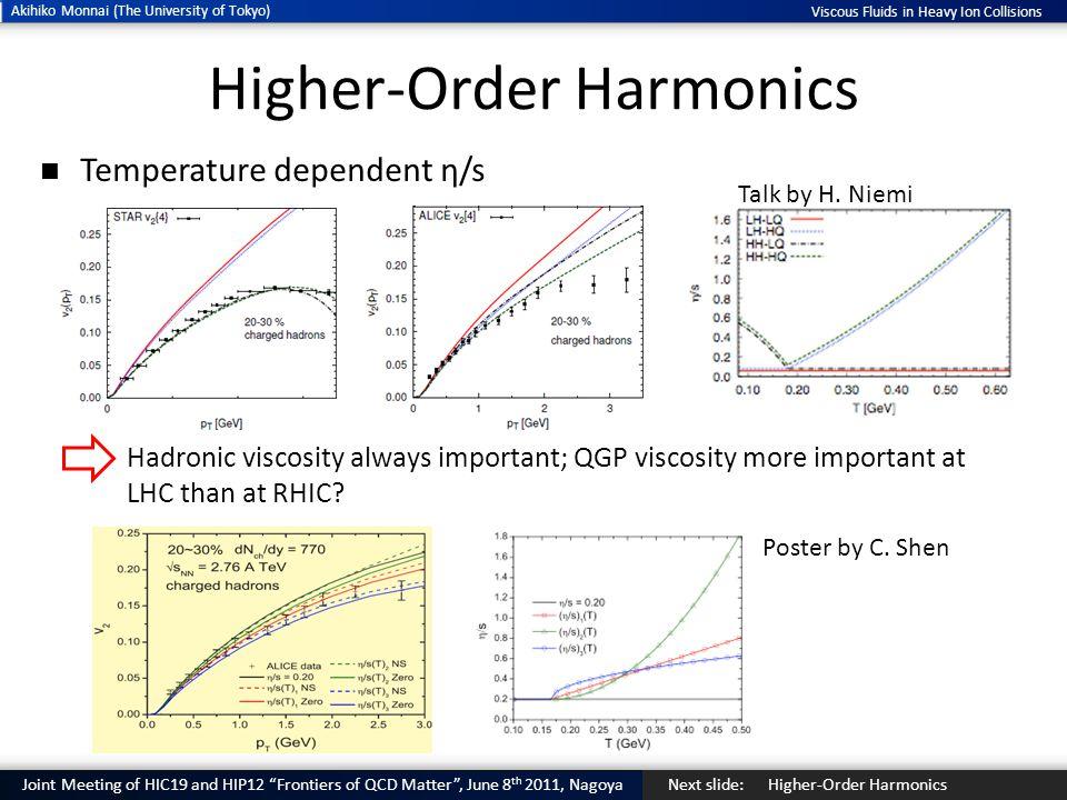 Higher-Order Harmonics