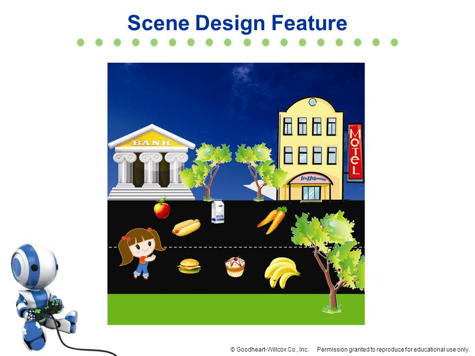 Scene Design Feature