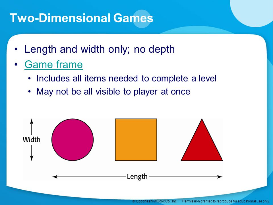 Two-Dimensional Games