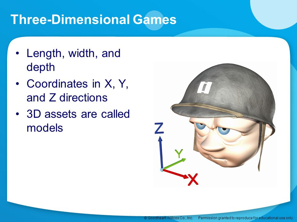 Three-Dimensional Games