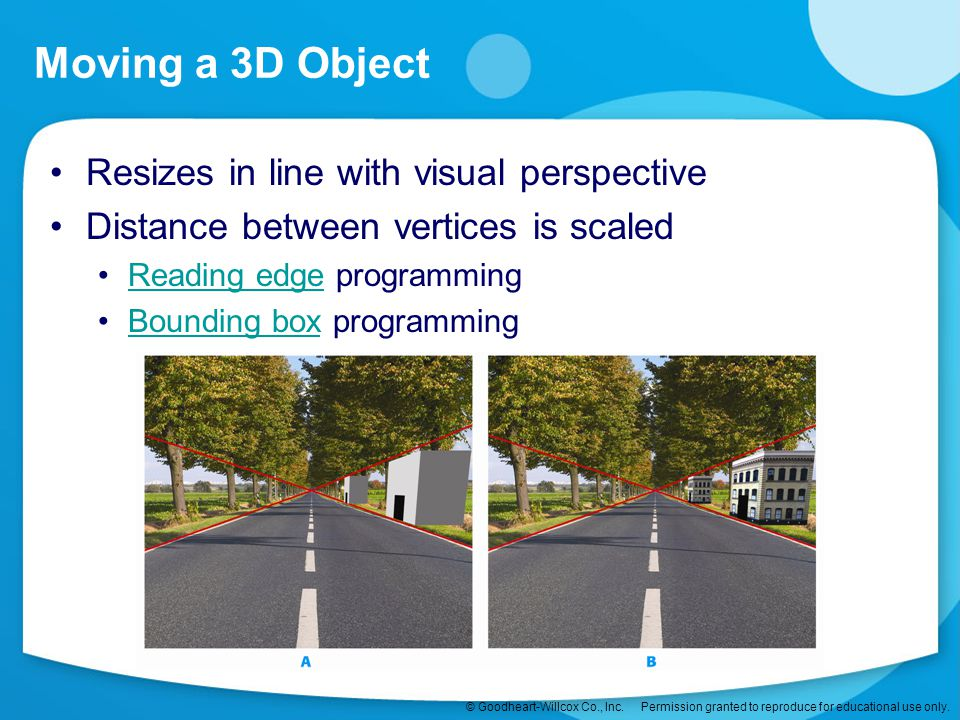 Moving a 3D Object Resizes in line with visual perspective