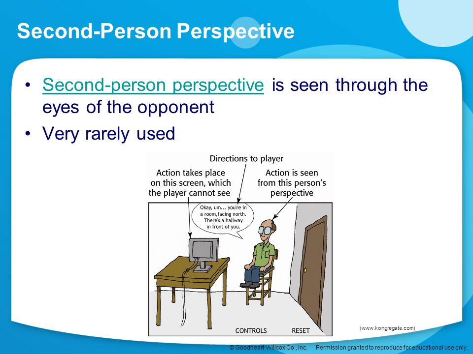 Second-Person Perspective