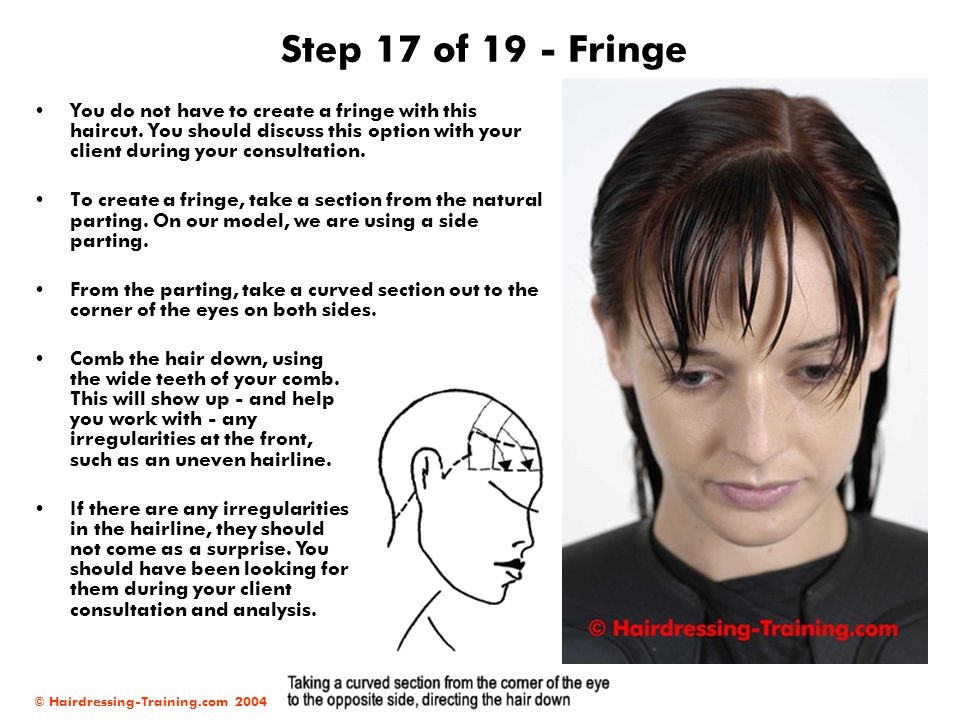 Step 17 of 19 - Fringe