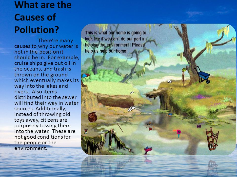 What are the Causes of Pollution