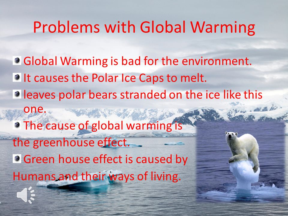Problems with Global Warming