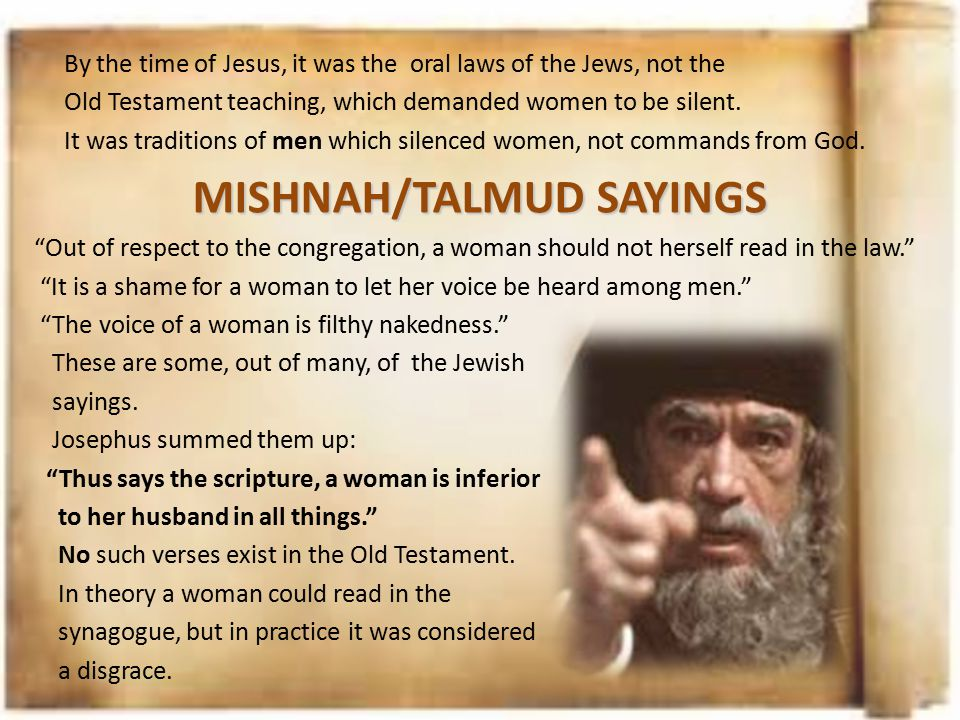 MISHNAH/TALMUD SAYINGS