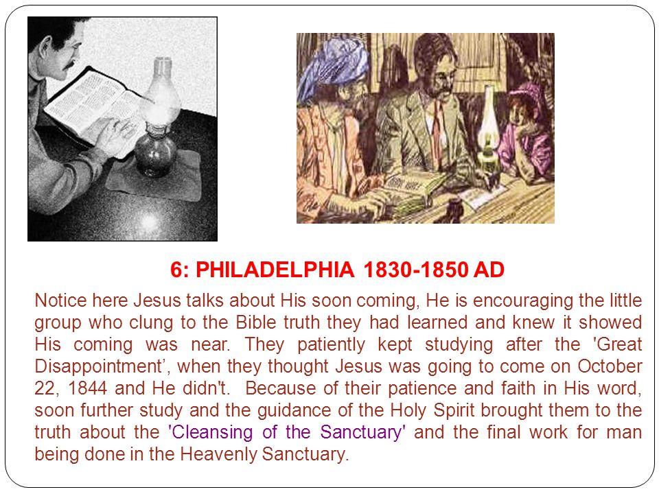 6: PHILADELPHIA 1830-1850 AD