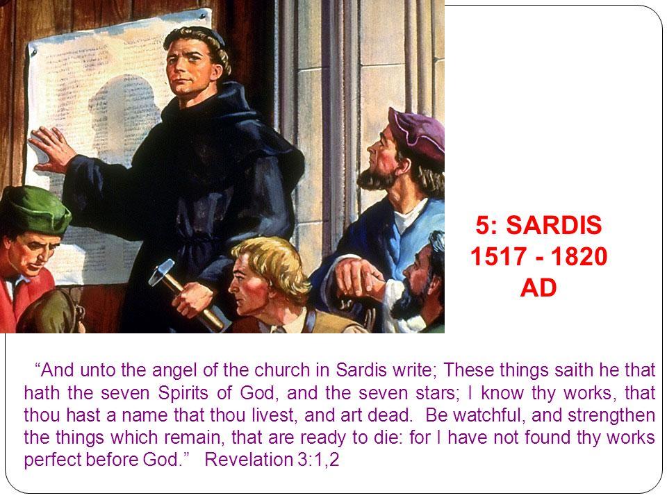 5: SARDIS 1517 - 1820 AD