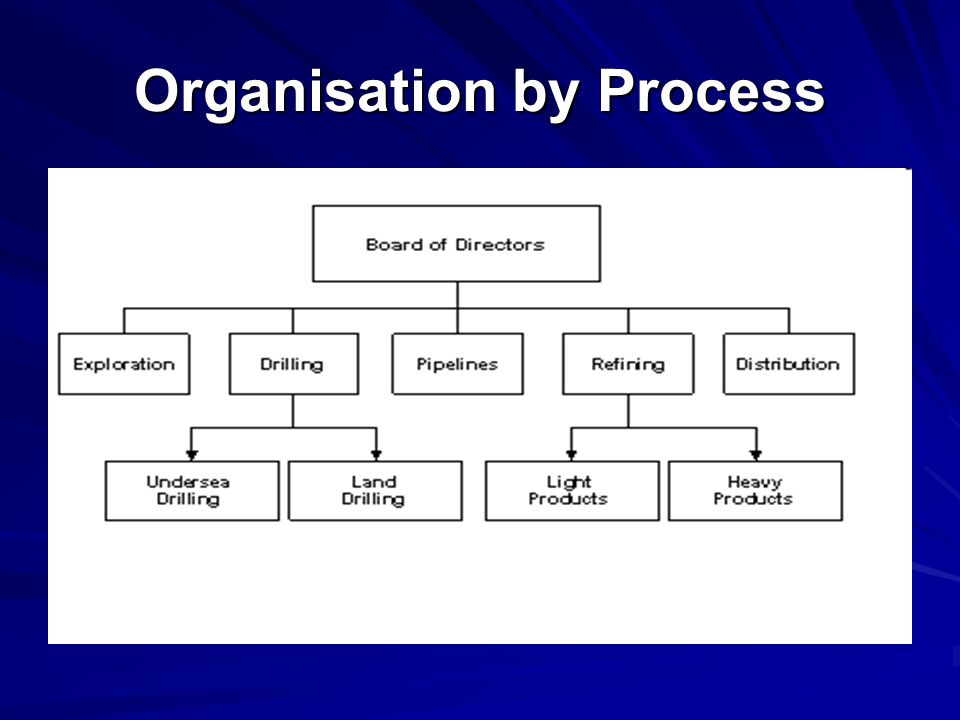 Organisation by Process