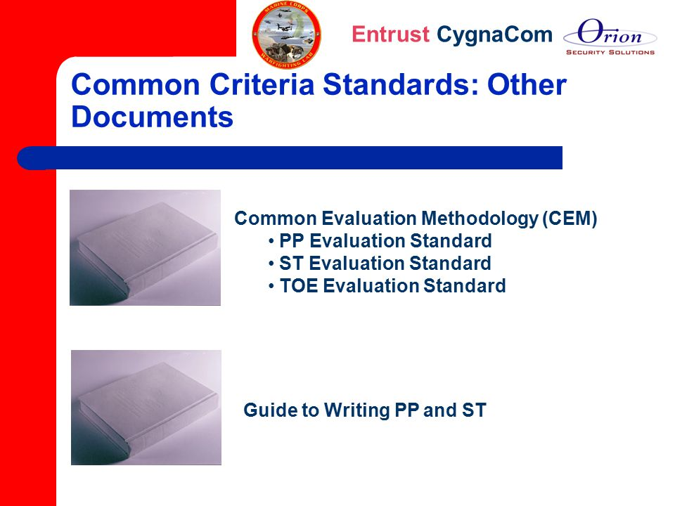 Common Criteria Standards: Other Documents