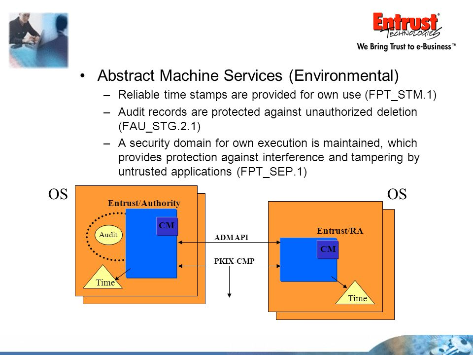 Abstract Machine Services (Environmental)