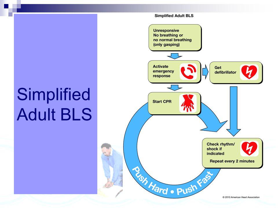 Simplified Adult BLS
