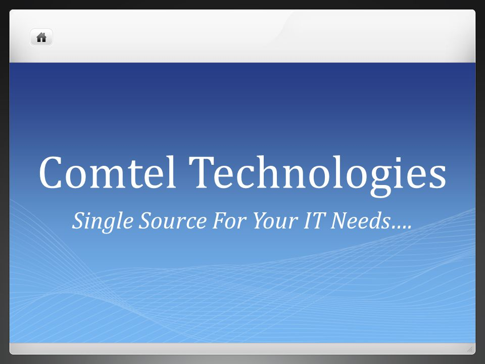 Single Source For Your IT Needs….