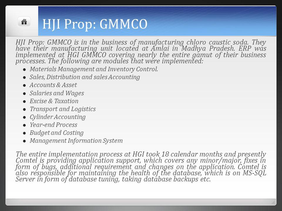 HJI Prop: GMMCO