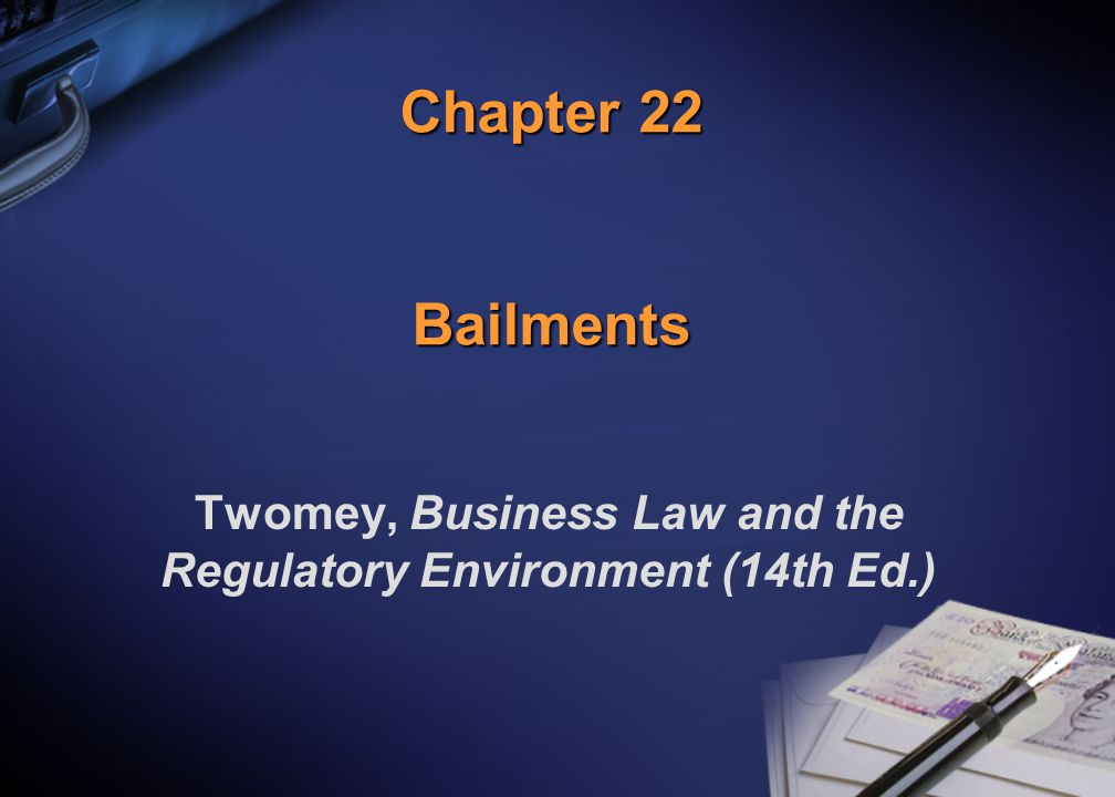 Twomey, Business Law and the Regulatory Environment (14th Ed.)